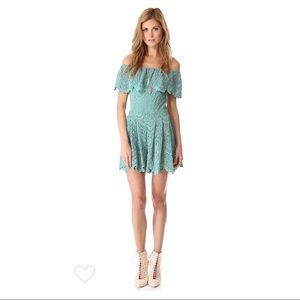 Nightcap Clothing Poolside Lace Romper Size 1